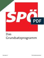 Das Spoe Parteiprogramm