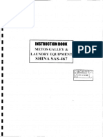 Maker Instr for Metos Galley & Laundry Equipment