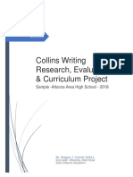 collins writing project  research evaluation and curriculum  - conrad