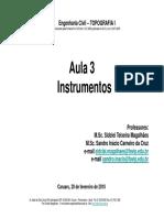 TOP I Aula 3 Instrumentos(1)