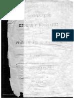 Notite Istorice Si Geografice Asupra Provinciei Dobrogea