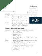 gina ferguson pdf resume