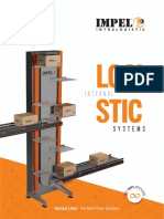 Datasheet - Vertical Lifter Conveyor for Multi Story Conveyor System Design