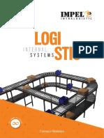 Automatic material handling with conveyor modular from Impel Intralogistics -Rajkot (Gujarat) India