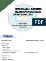Asuhan Keperawatan Gerontik Klien Dengan Diagnosa Medis Diabetes