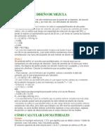 Ejemplos de Diseño de Mezcla