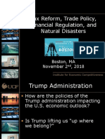 2018 11 02 Commercial Economic Issues and Trends Forum Sean Snaith Presentation Slides 11-03-2018