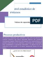 (8) Control Estadístico Del Proceso