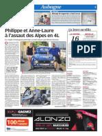 Philippe et Anne-Laure à l'assaut des Alpes en 4L (04/08/18)