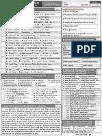 1st Bac Diagnostic Test