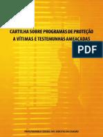 Cartilha Protecao Vitimas Testemunhas Pfdc 2013