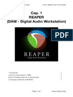 001 Apuntes Sobre Reaper - Para Diferentes Asignaturas
