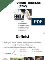 EBOLA  VIRUS  DISEASE.ppt