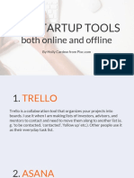 13. 31 Startup Tools