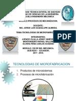 Tecnologías de Microfabricación