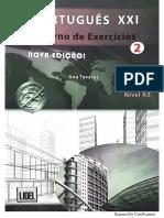 Português XXI Nova Edição Caderno de Exercícios 2