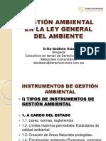 GESTIÓN AMBIENTAL EN LA LEY GENERAL DEL AMBIENTE
