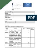 e. Formato 4 - Calificación Documento Trabajo de Grado