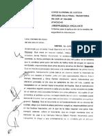 LEGIS.pe R.N. 104 2005 Ayacucho Criterios Para La Aplicación de La Medida de Seguridad de Internación Jurisprudencia Vinculante 1