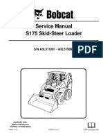 BOBCAT S175 SKID STEER LOADER Service Repair Manual SN A3L511001-A3L519999.pdf