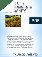 RECEPCIÓN Y ALMACENAMIENTO DE ALIMENTOS (1)