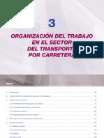 Organización del trabajo en el sector del transporte por carretera