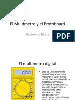 El_Multimetro_y_el_Protoboard.ppt