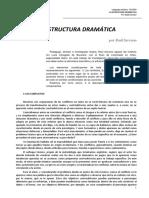 Estructura Dramática - Raúl Serrano