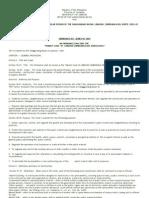 Market Code of Labason 2007
