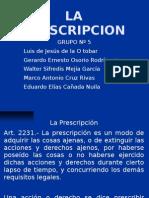 prescripcion exposicion