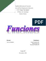 Funciones (Cálculo)