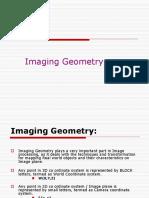 Lec5 & 6 Imaging Geometry