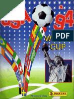 07. Álbum Copa Del Mundo USA 94