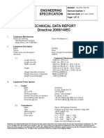 RT 540 Technical Data Report