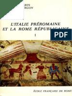 [École Française de Rome] L'Italie Préromaine e(BookFi)