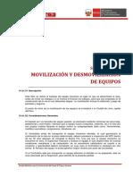 01.01 Movilización y Desmovilizacion de Equipos 2