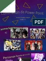 Culminación de Power Point