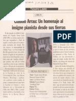 Homenaje Arrau Libro de 2003