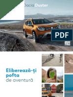 Brosura Dacia Duster 2018