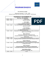 EHA2018 Program