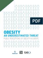 Obesity an Underestimated Threat