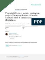 Impactos hidrovía Paraguay