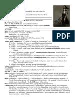 Planilla de Pathfinder para elfa