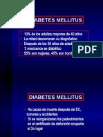 3. Diabetes Mellitus. Metas de Control