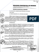 Documento Municipal Huaraz