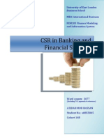 CSR in Banking and Financial Services - Azidah - 10 Nov 09