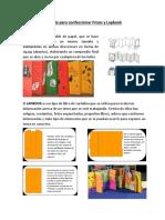 Guía Para Confeccionar Frisos y Lapbook