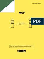 AA-D602A-TC Maintenance Operation Protocol (MOP)