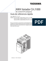 Manual variador Yawasaka