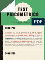 6to Test Psicométrico